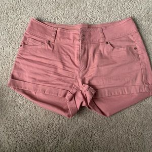 Fashion Nova Wax Shorts
